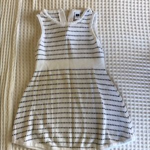 Black and white Janie and Jack sweater dress